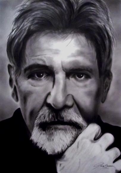 Harrison Ford por GeorgeManasseh